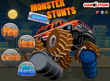 Monster stunts show